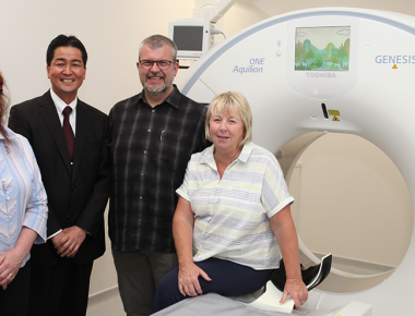 Legacy-funded CT scanner