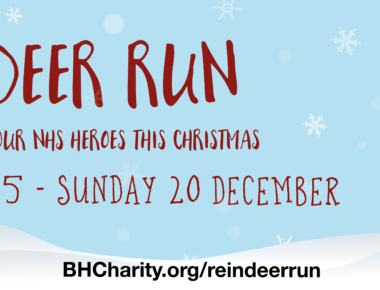 Our festive fun-run starts this weekend