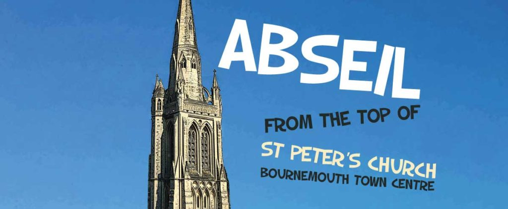 Abseil at St. Peter's Church