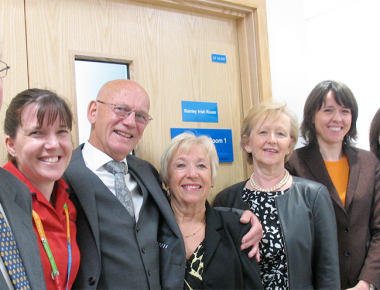 Legacy donation plaque unveiled