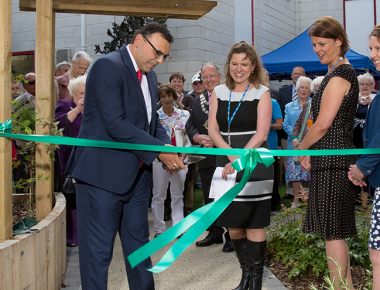 Orchard Garden officially opened