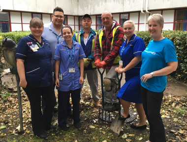Work begins on hospital Petal Garden