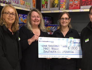 Local Co-op stores kick start MAST campaign