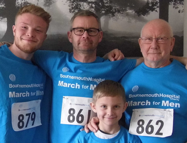 Youngsons stand together for March for Men