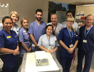 Endoscopy department receives new equipment from fundraising efforts
