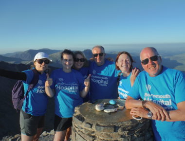 Brian's Welsh Three Peak success