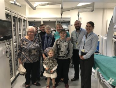 £62,500 legacy buys Cardiology equipment