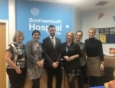 Symonds & Sampson name Bournemouth Hospital Charity their 'Charity of the year'