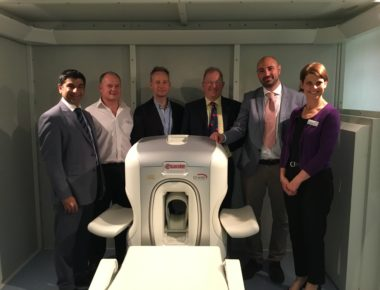 Mini MRI Scanner opens to patients at the Royal Bournemouth Hospital