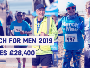 March for Men raises £28,400 for men's healthcare