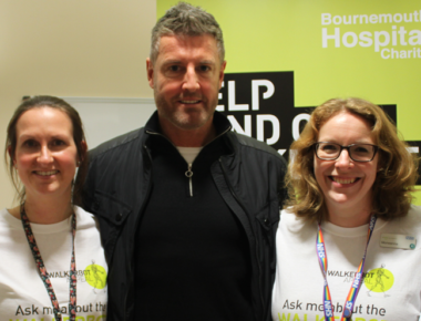 Bournemouth legend supports charity robotics campaign