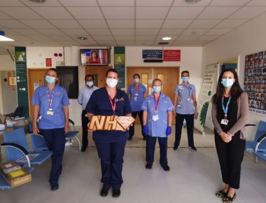 Hand Carved Heroes Plaque Immortalises NHS Spirit
