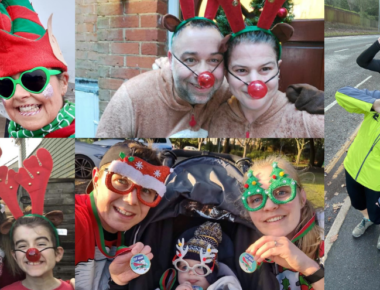Festive fun-runs raise almost £10,000 for hospitals!