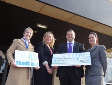 Hotel donates thousands of pounds